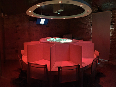 The room of the 5 senses