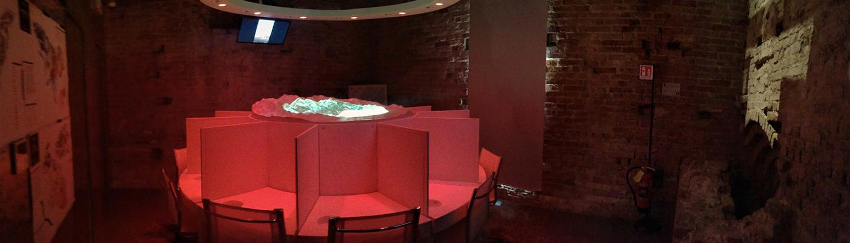 Sala dei 5 sensi nella Torre di Barbaresco