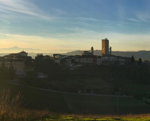 Panorama Barbaresco e Torre di Barbaresco