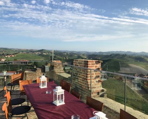 Terrazza panoramica della Torre di Barbaresco