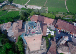 Barbaresco tower panorama
