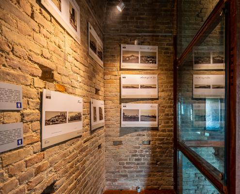 Interno Museo cavazza nella Torre di Barbaresco